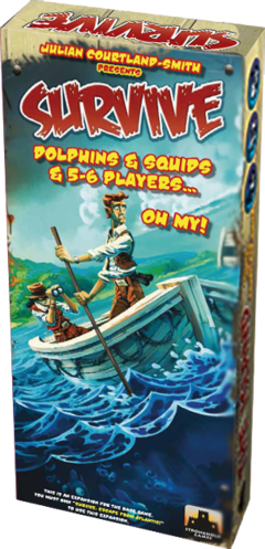 Dolphins & Squids & 5-6 Players…Oh My! - Expansão Survive