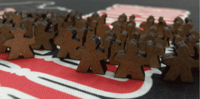 Meeples para Lords of Waterdeep - comprar online