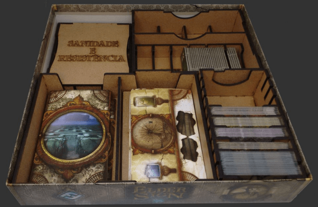 Organizador para Elder Sign na internet