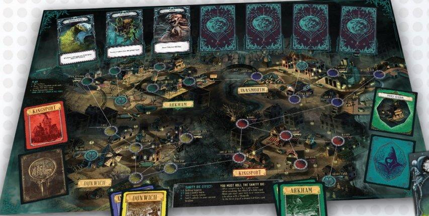 Resultado de imagem para descrição do jogo Pandemic: O Reino de Cthulhu