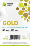 Sleeve Blue Core Gold 80 x 120 mm - 100 unidades na internet