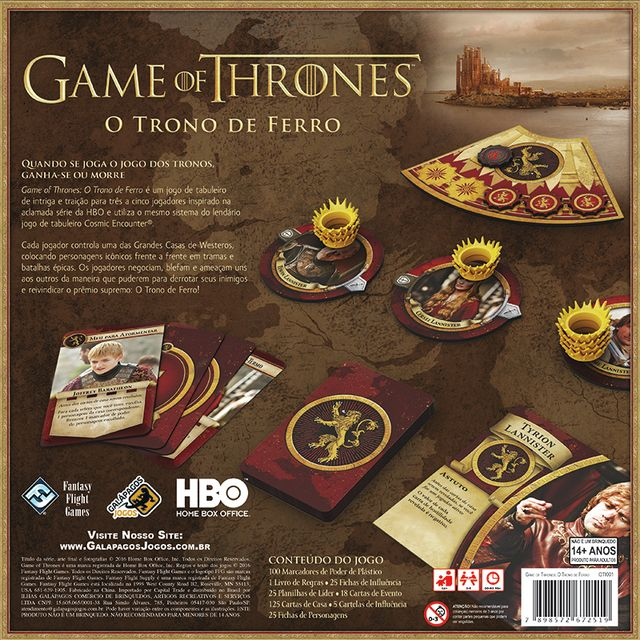 Game of Thrones: O Trono de Ferro (pré-venda) - comprar online