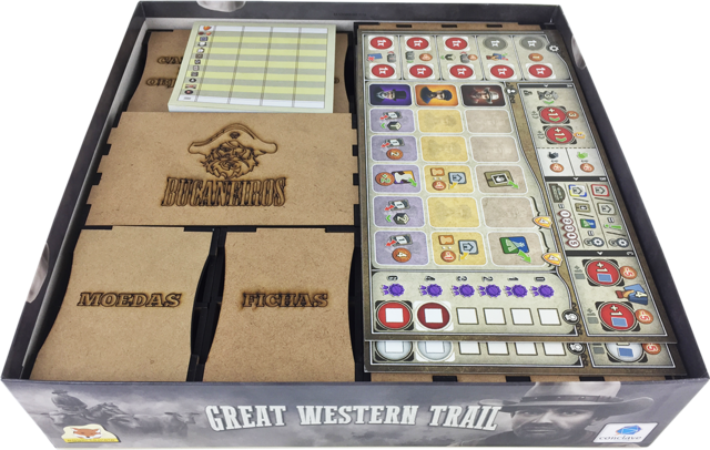 Organizador para Great Western Trail