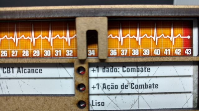 KIT Dashboard para Zombicide (6 unidades)
