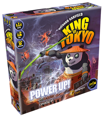 Power Up - Expansão King of Tokyo