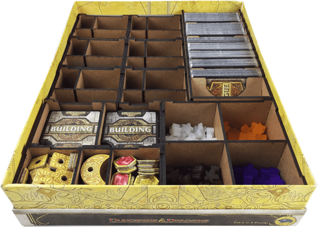 Organizador para Lords of Waterdeep - Caixinha Boardgames