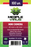 Sleeve Meeple Virus Mini Chimera 43 x 65 mm - 100 unidades na internet