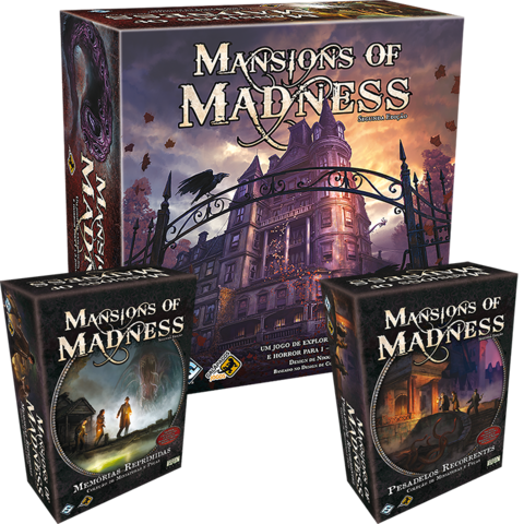 Combo Mansions Of Madness + 2 expansões