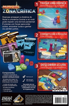 Pandemic: Zona Crítica - comprar online