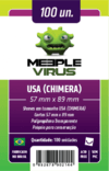 Sleeve Meeple Virus Chimera 57 x 89 mm - 100 unidades