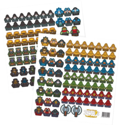 Meeple Stickers Dwar7s