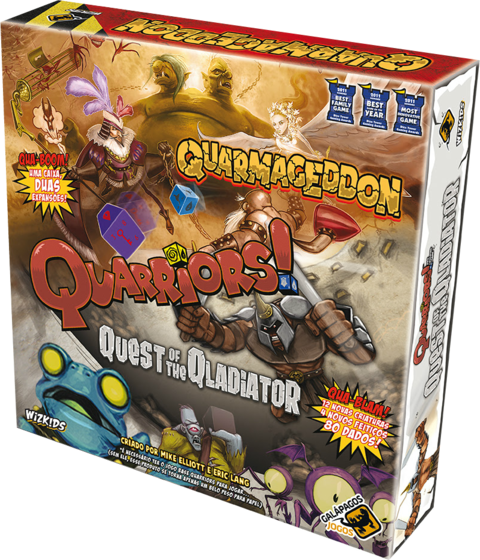 Quest of the Qladiator + Quarmageddon - Expansão Quarriors