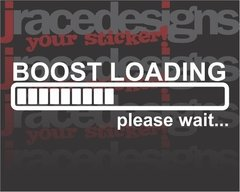 a21 - Adesivo Boost Loading, please wait - comprar online