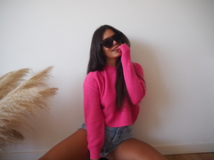 SWEATER CALA FUCSIA