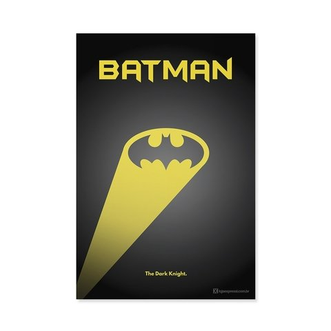 Poster / Quadro - Batman na internet
