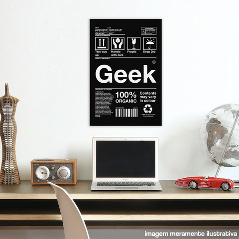 Poster / Quadro - Geek (Box Collection) - loja online