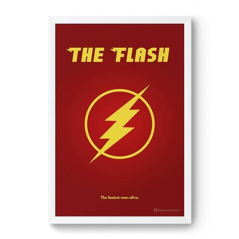 Poster / Quadro - The Flash - comprar online