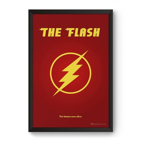 Poster / Quadro - The Flash
