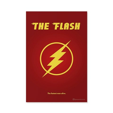 Poster / Quadro - The Flash na internet
