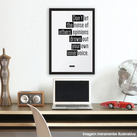 Poster / Quadro - Don´t Let The Noise - comprar online