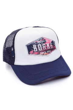 GORRA TRUCKER -  DREAM BIG MANLY - AZUL