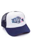 GORRA TRUCKER -  DREAM BIG MOZAMBIQUE - AZUL