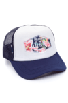 GORRA TRUCKER -  DREAM BIG ZANZIBAR - AZUL