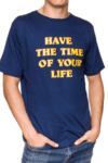 REMERA - TIME OF YOUR LIFE - AZUL