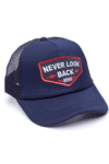GORRA TRUCKER -  NEVER LOOK BACK AZUL - AZUL FULL