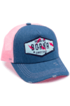 GORRA - DREAM - RAYO - ROSA + AZUL