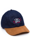 GORRA DAD HAT - DO EPIC - DENIM/BEIGE