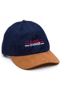 GORRA DAD HAT - GAME CHANGER - DENIM/BEIGE
