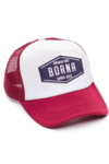 GORRA TRUCKER -  DREAM BIG AZUL - BORDO