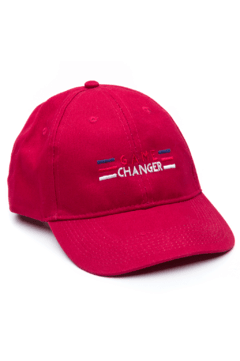 GORRA- GAME CHANGER - BORDO