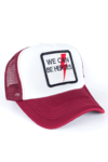 GORRA TRUCKER - HEROES - BORDO