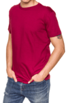 Remera Lisa Borna Bordo