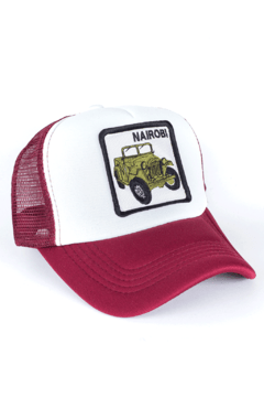 GORRA TRUCKER - NAIROBI - BORDO