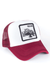 GORRA TRUCKER - TEXAS - BORDO