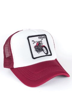 GORRA TRUCKER - VEGAS - BORDO