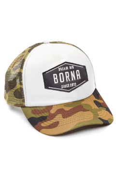 GORRA TRUCKER - DREAM BIG NEGRO - CAMUFLADA