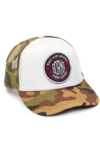 GORRA TRUCKER - WHAT GOES AROUND NEGRO - CAMUFLADA