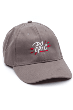 GORRA- DO EPIC - GRIS