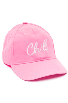 GORRA DAD HAT - CHILL - ROSA