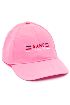 GORRA DAD HAT - GAME CHANGER - ROSA
