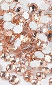 Strass Cristal  Nude  - 2 mm