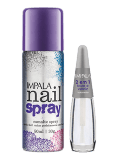 Kit  Nail Spray - Roxo - comprar online