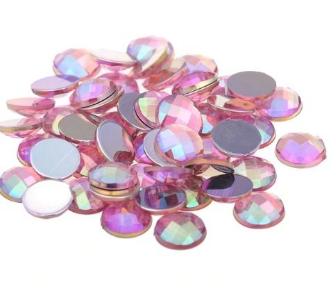 Strass  Redondo  Rosa - Furta-cor  5,0mm