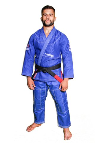Kimono The Shield Azul Royal Série Limitada - comprar online