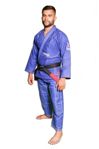 Kimono The Shield Azul Royal Série Limitada - Brazil Combat
