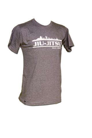 T-shirt Jiu-Jitsu City Chumbo